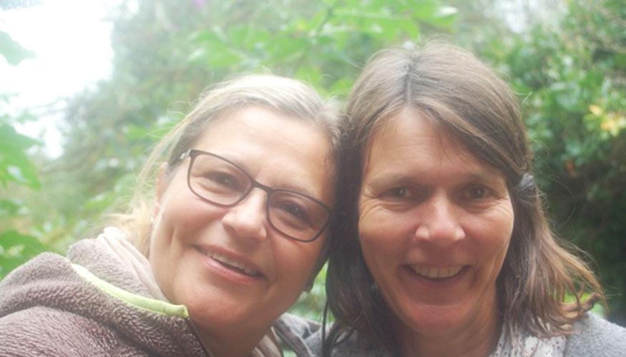 Dagmar Schönemann und Svenja Schlichting